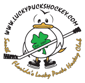 logo Lucky Pucks Hockey